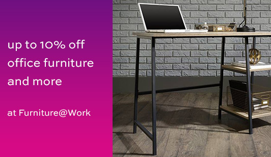 10% off at Furniture @ Work